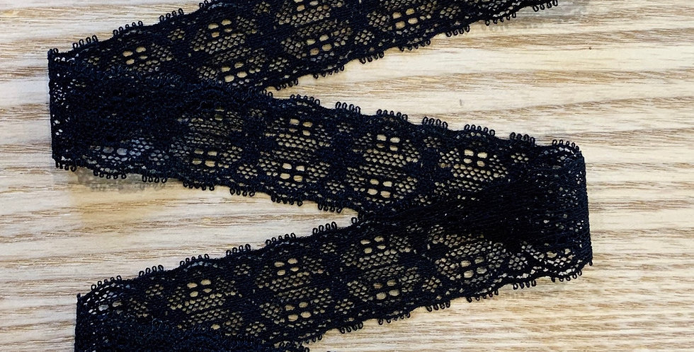 Maree Black Stretch Lace...