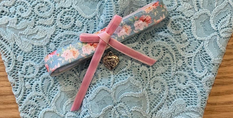 Aqua Bloom Wide Stretch Lace Pack...