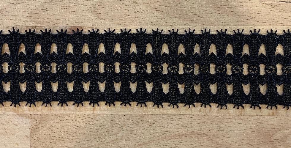 Paragon Black Soft Guipure Lace...