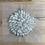 Thumbnail: Ivory Silk Organga Rosette ...