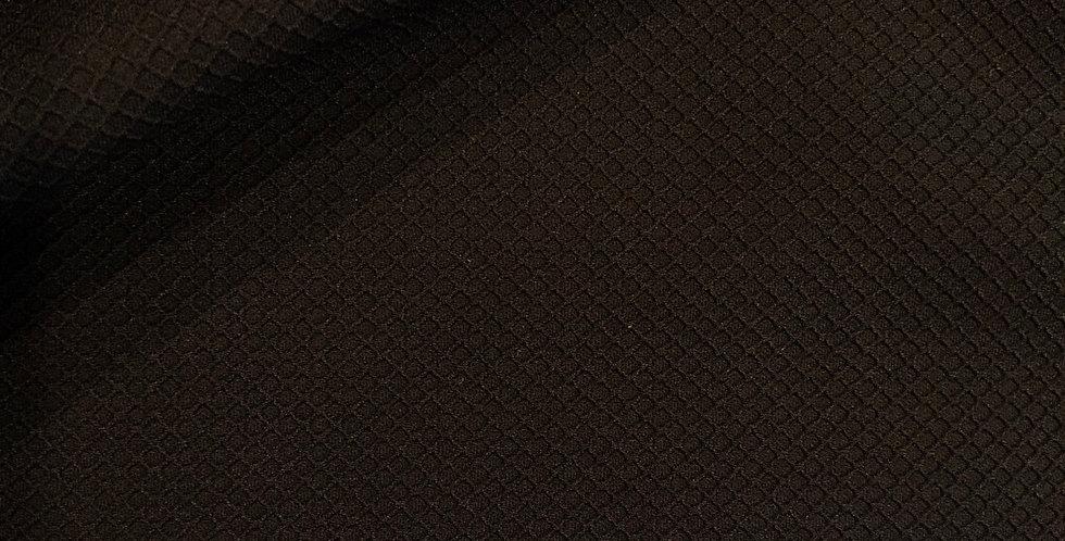 Black diamond textured lycra