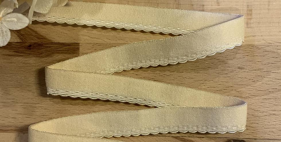 Golden Sand 15mm Picot Elastic…