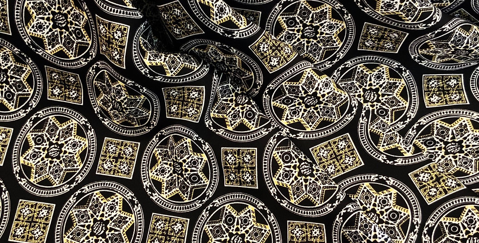 Moroccan Star Polyester de Chine 3mtr Bundle...