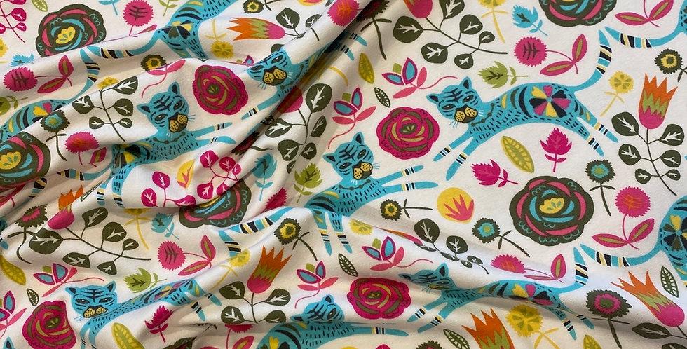 art gallery fabrics tigress lollypop knit