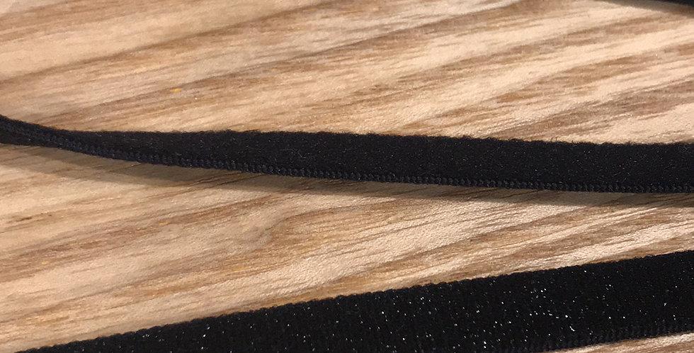 Black glitter strapping