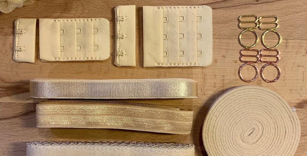 Golden Sand Wired Bra Trim Kit…