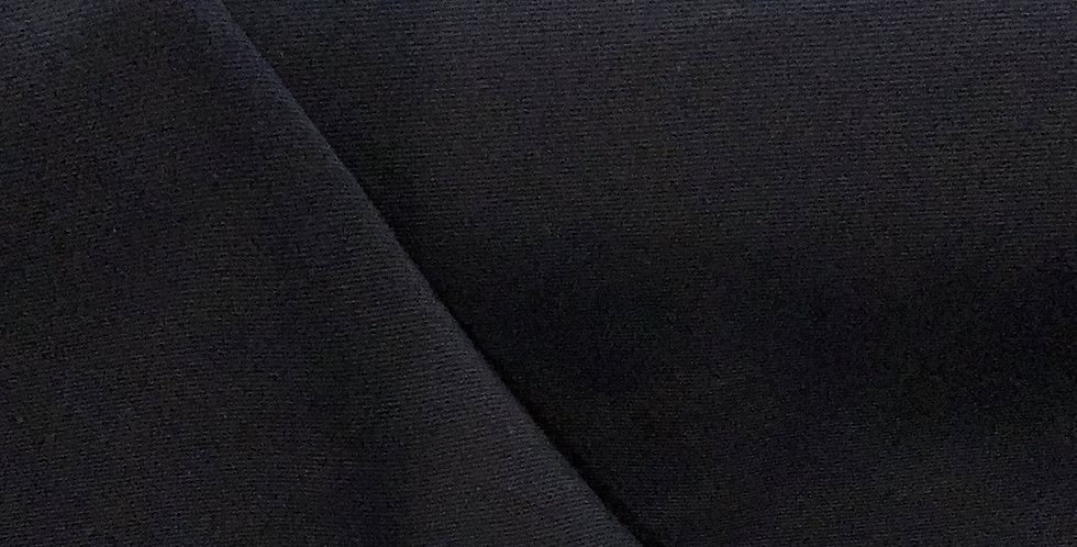 French Navy Polyester Gaberdine Suiting...