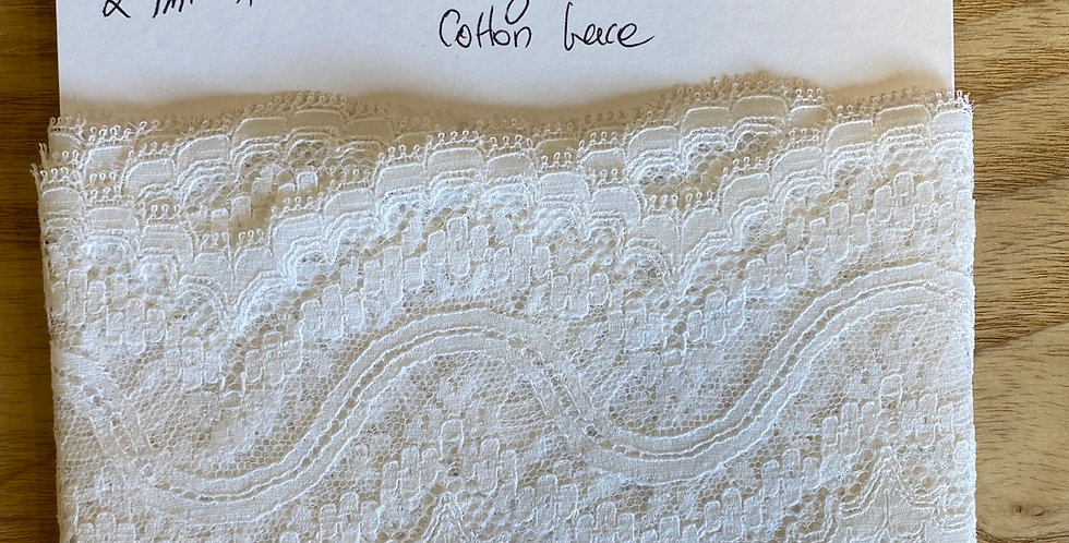 vintage French cotton Remnant