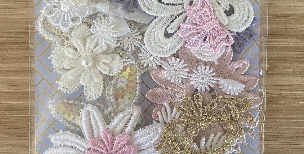 Flower motif pack 12