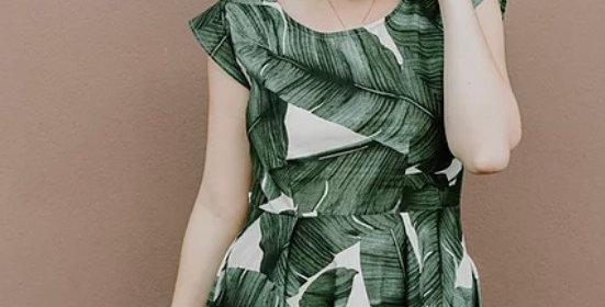 sew to grow sweet summertime dress printed pattern