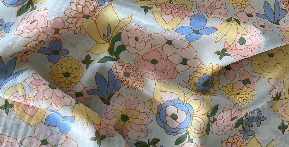 lady mcelroy floral nova silk crepe de chine