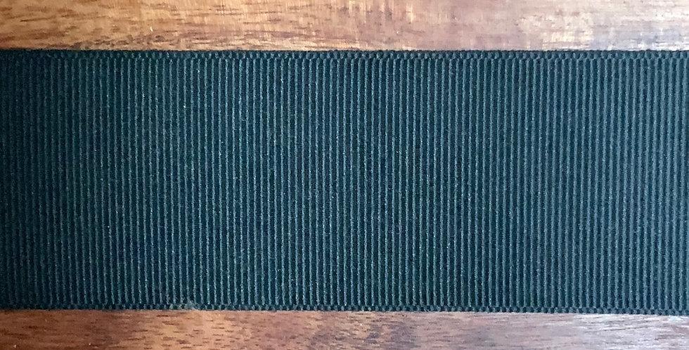 38mm Black Polyester Taffeta Gross Grain Ribbon...