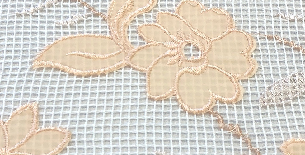 Babylon Appliqué Grid Lace...
