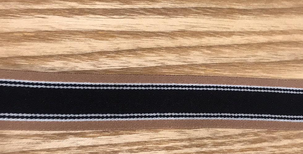 Oxford stripe elastic