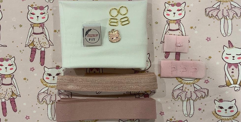 Princess Kitty Lily bralette Kit..