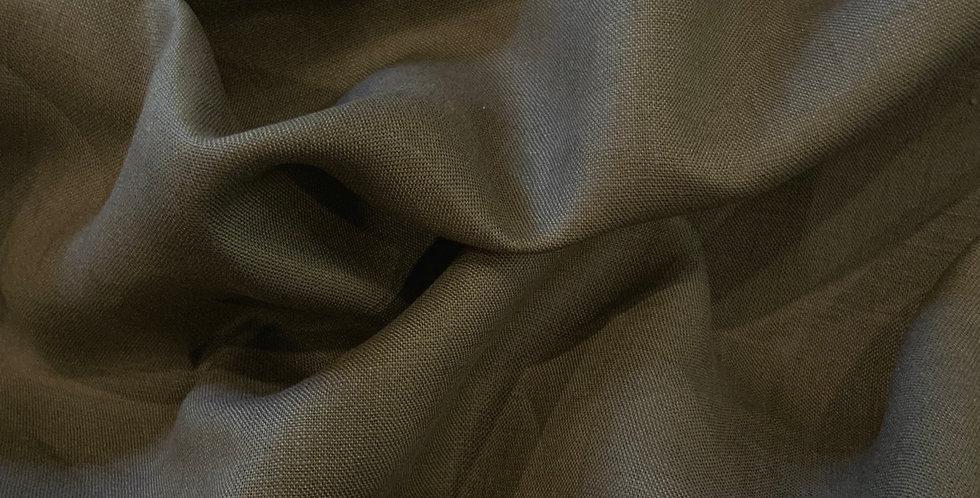 Khaki Oeko-Tex Linen