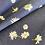 Thumbnail: Art gallery fabrics ragged daisies denim