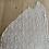 Thumbnail: Ivory beaded silk lace piece 1