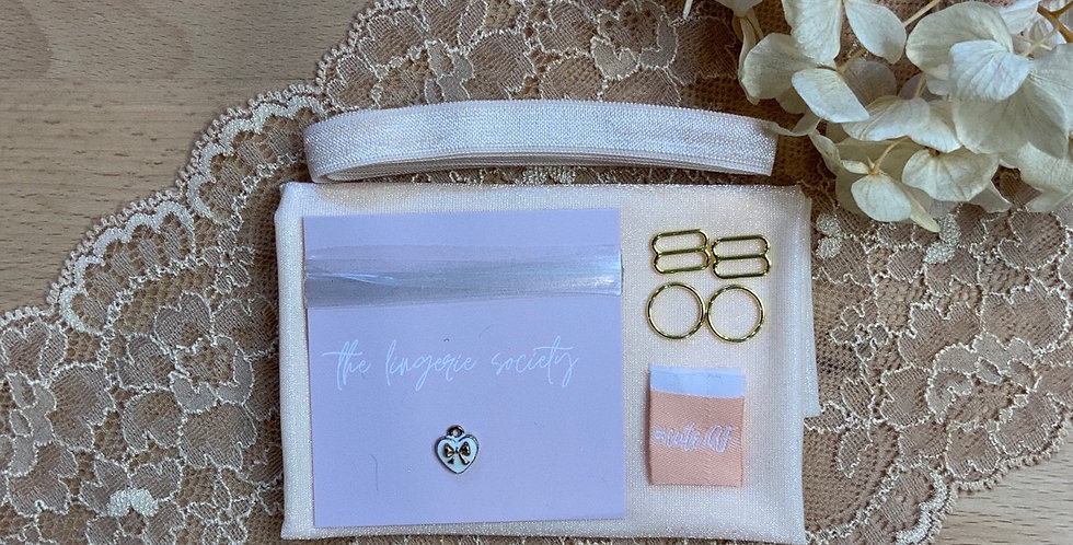 Willow Chai Lace Bralette Kit