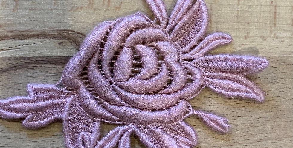 Alba Dusty Roe Guipure Lace Motif