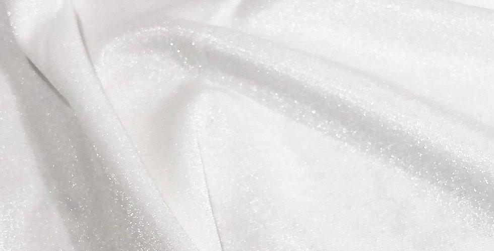 Winter white crystal Lycra
