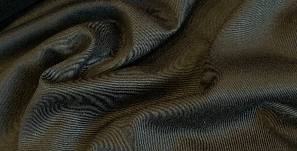 Marley Black Viscose Twill Suiting...