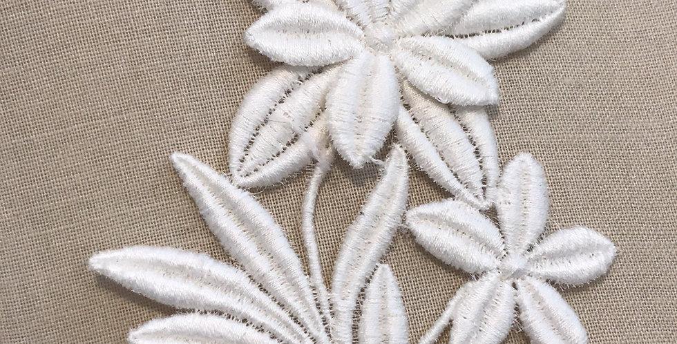 Vintage star flower motif