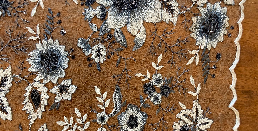 Elisa Embroidered Sequin Lace....