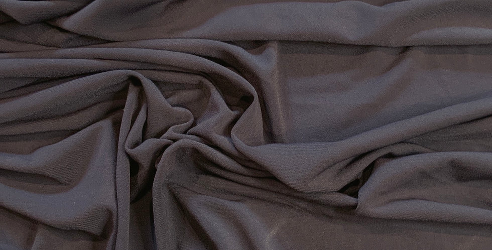 Dark Grey Polyester Jersey Remnant