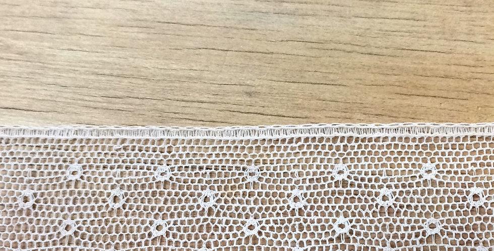 Fawn garden vintage lace trim