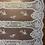 Thumbnail: Ivory Hand Beaded Hailspot Mesh Lace 3mtr piece