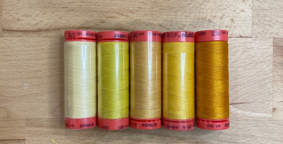 Metrosene Mixed Sunset Thread Pack #4