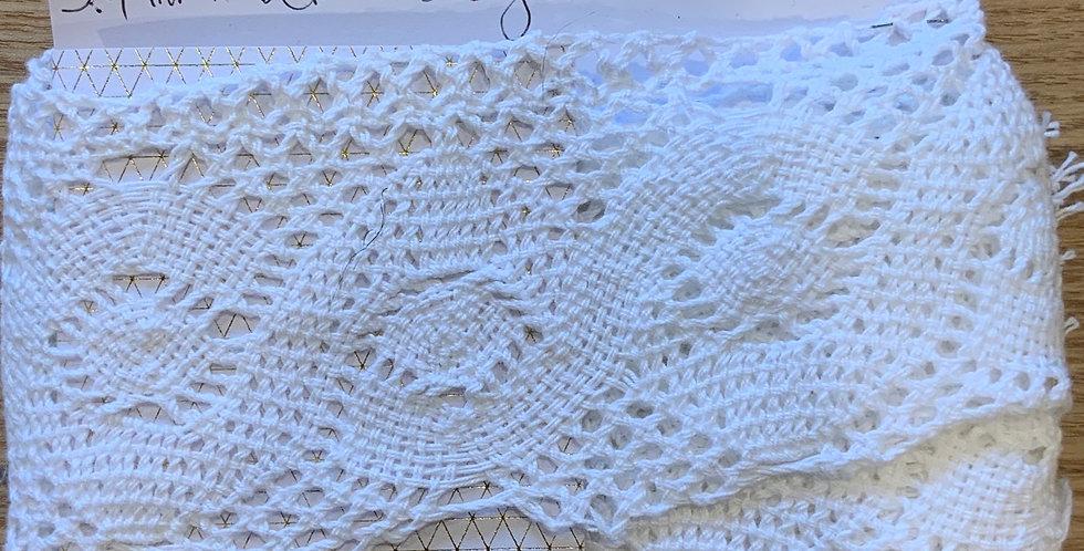 White Crochet Lace...