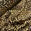 Thumbnail: Mustard Petite Leopard De-Lustred Viscose Satin...