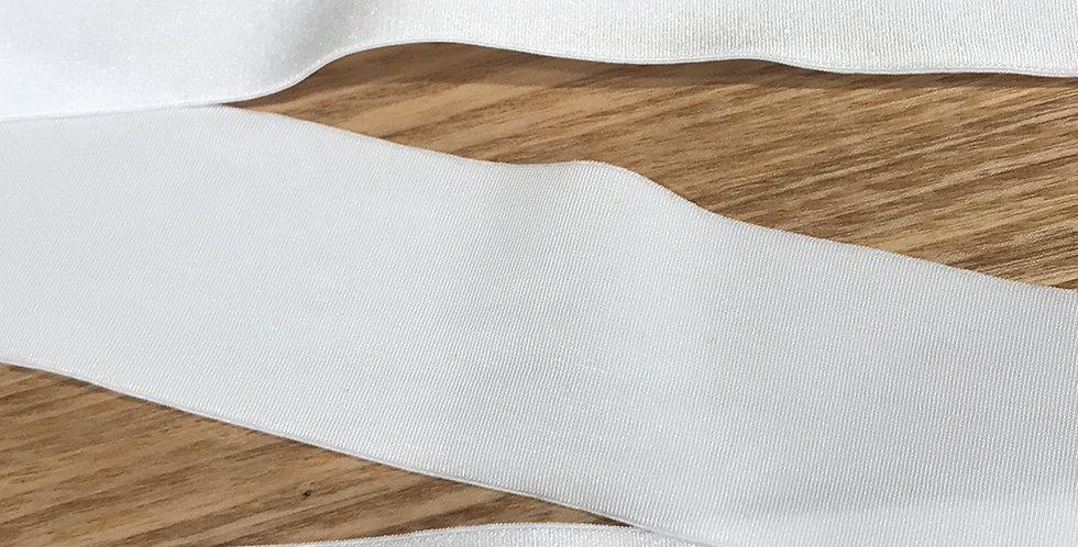 40mm Ivory elastic
