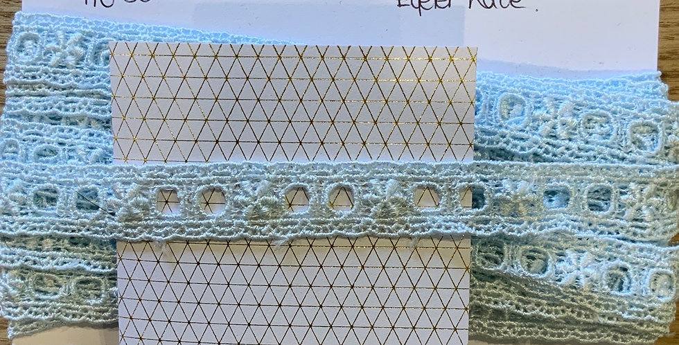 Hand Dyed Rayon Eyelet Lace...