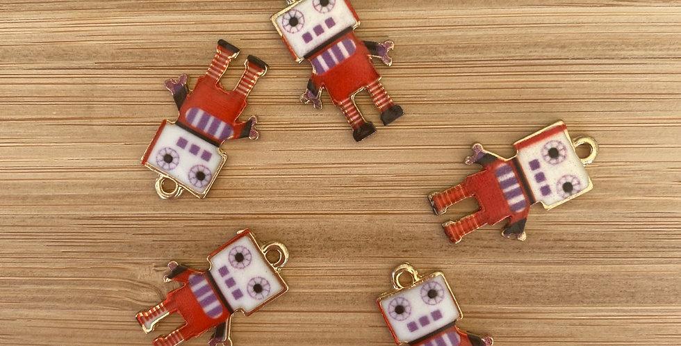 Remmy robot charm