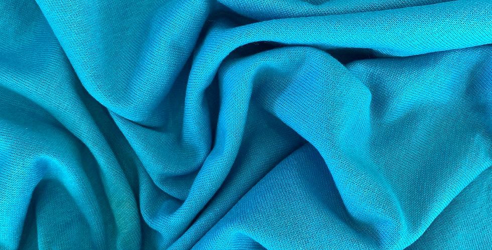 Aqua cotton knit