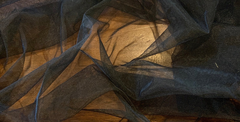Black Super Fine Stretch Netting...