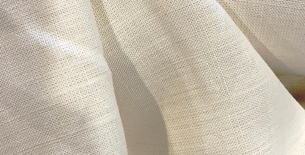 Cream Linen Look Acetate
