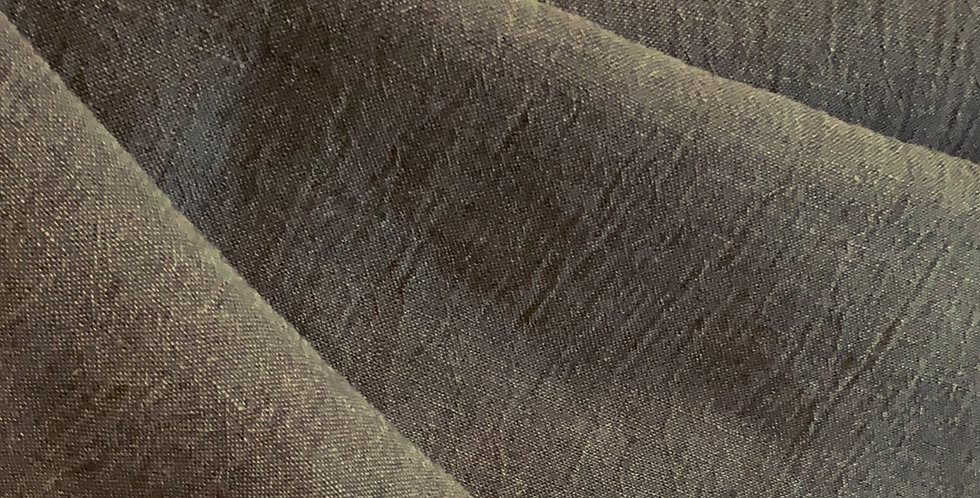 Slate Grey Crinkle Linen...