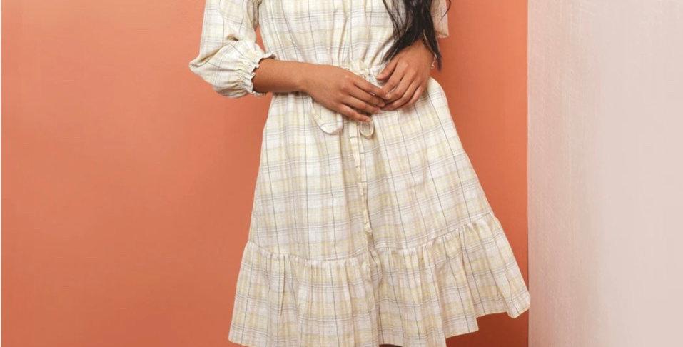 Friday pattern company davenport dress printed pattern