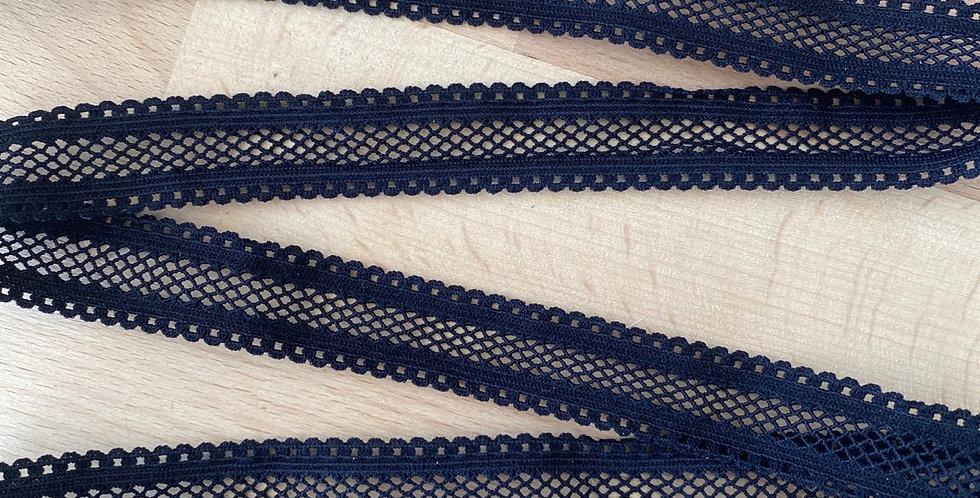 Black lattice lightweight elastic