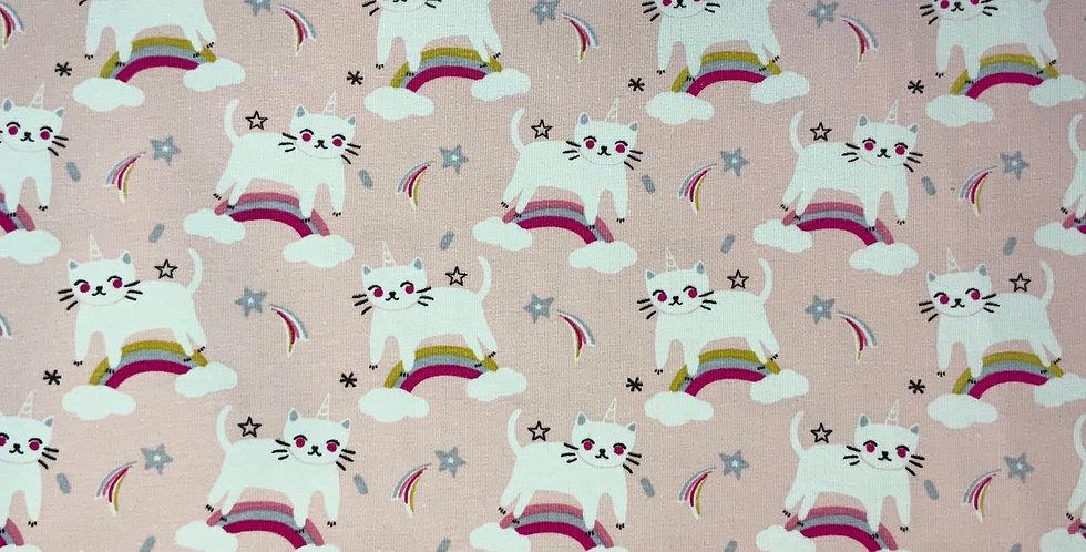 Unicorn Kitten Domotex French Cotton Spandex Knit...
