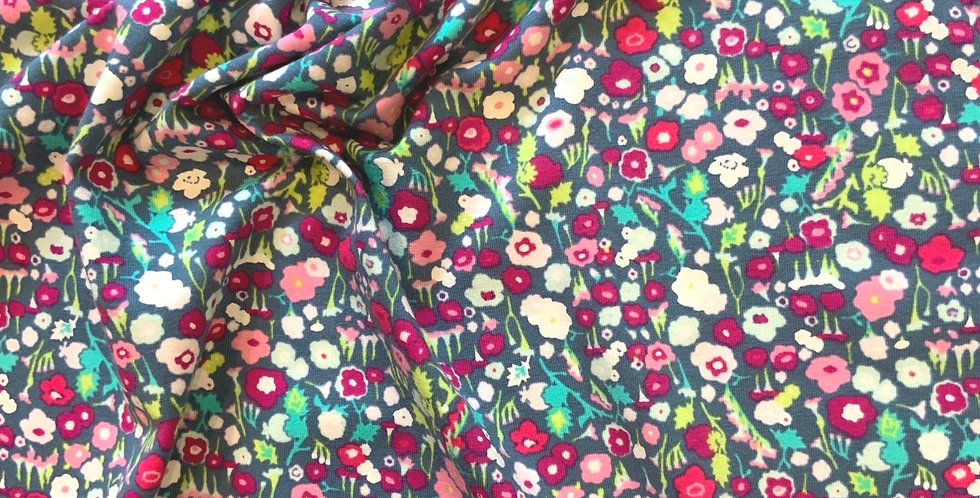 1.5mtrs Art Gallery Fabrics Pretty Ditsy Dream Oeko-Tex Cotton Spandex Knit...