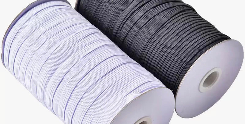 Bulk  180 metre roll  6mm elastic