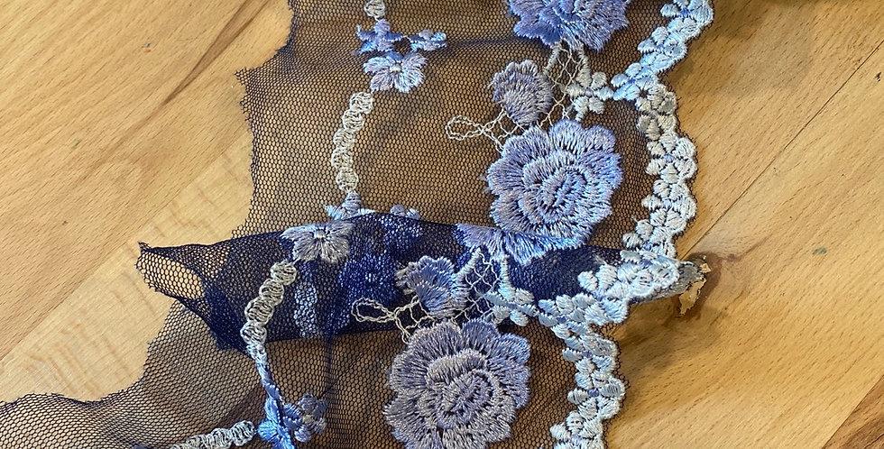 Bronte embroidered trim 1.8mtr piece