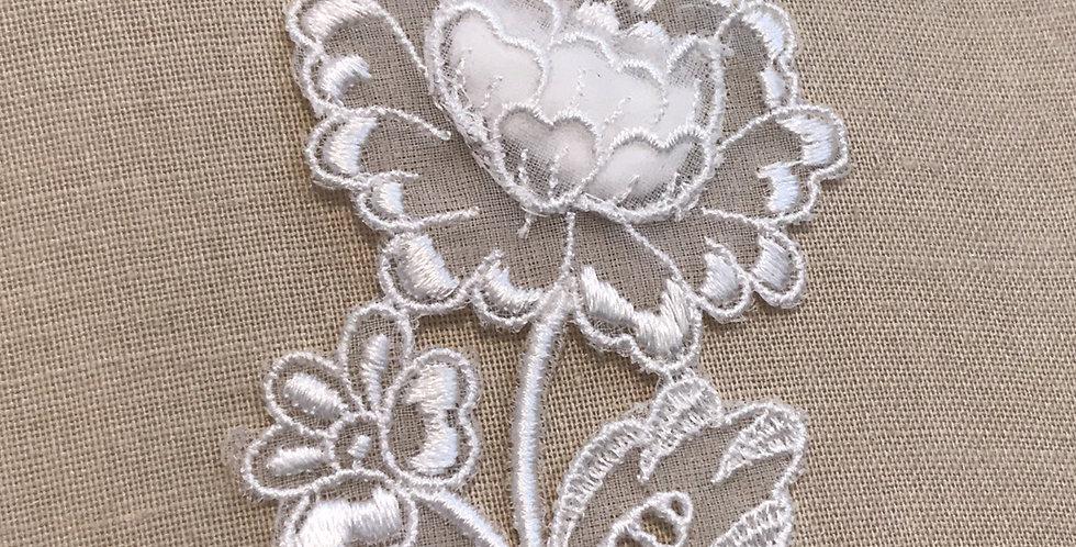 Vintage peony motif