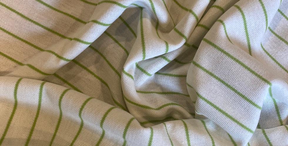 vintage 1980's stripe knit remnant
