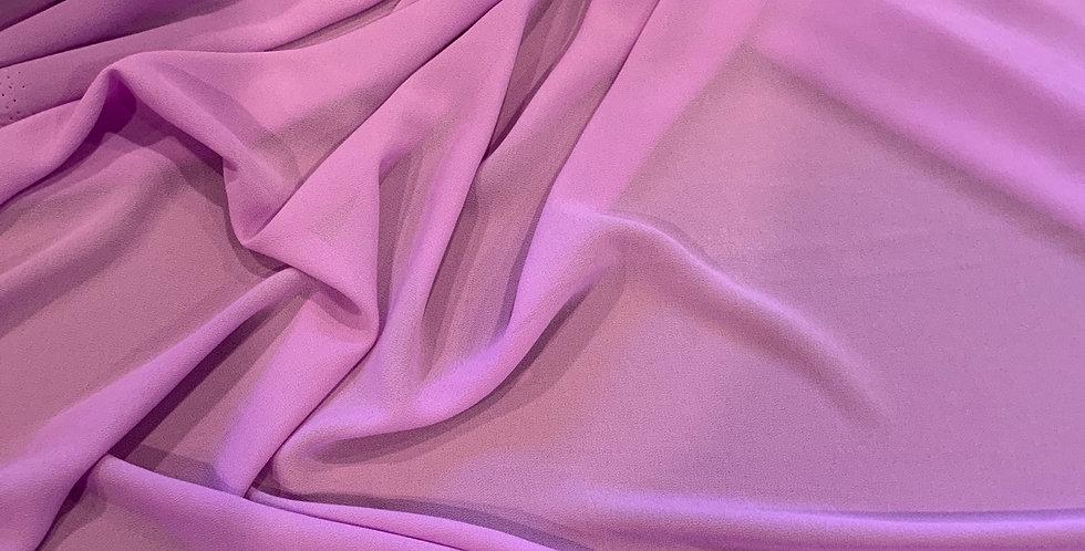 Bright Lilac Crepe Georgette